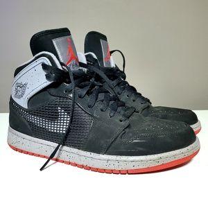 Nike Air Jordan 1 Retro 89 Black Fire Red Cement